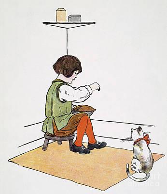 Mother Goose: Jack Horner Art Print by Granger