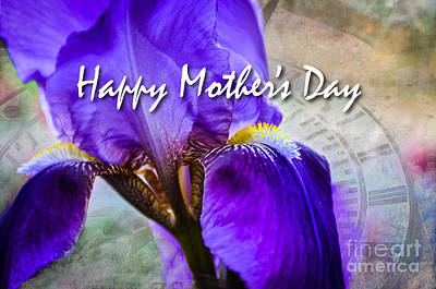 Photograph - Mothers Day Iris by Cheryl McClure