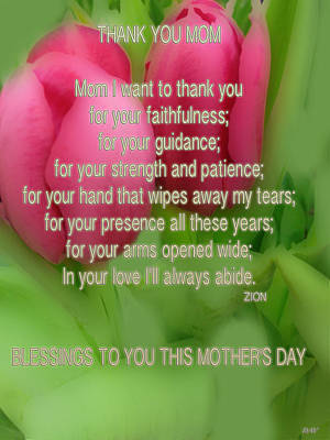 Photograph - Mothers Day Poem Card by Debra     Vatalaro