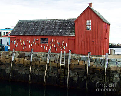 Photograph - Motif #1 Rockport by Kristen Fox