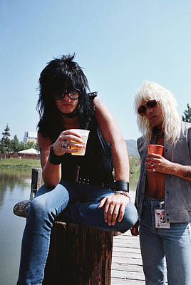 Motley Crue Photograph - Motley Crue/ Us Festival '83 #1 by Chris Deutsch