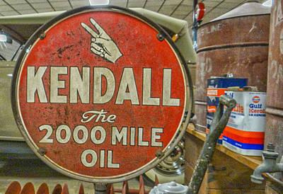 Motor Oil Original by Dennis Dugan