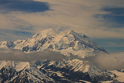 Photograph - Mount Denali Alaska by Ronald Olivier