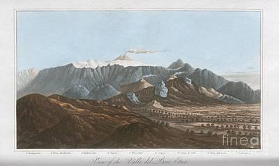 Charles Lyell Photograph - Mount Etna, 19th Century by King's College London