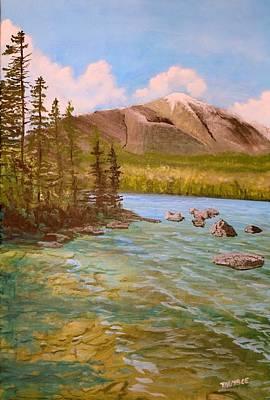 Mount Katahdin Painting - Mount Katahdin by William Tremble