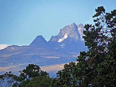 Photograph - Mount Kenya by Tony Murtagh