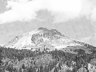 Mount Lassen Art Print by Frank Wilson