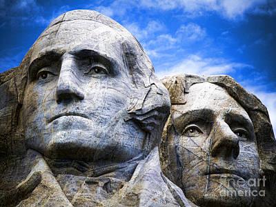 Photograph - Mount Rushmore by Brenda Kean