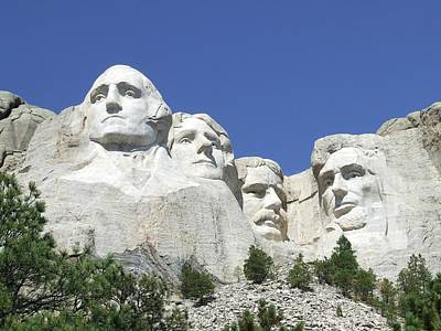 Thomas Jefferson Digital Art - Mount Rushmore National Memorial by National Parks Service