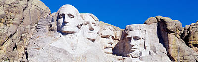 Sculptural Photograph - Mount Rushmore, South Dakota, Usa by Panoramic Images
