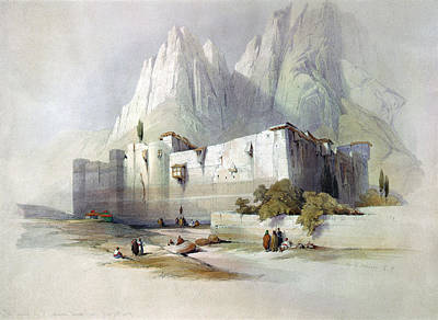 Orthodox Painting - Mount Sinai Monastery by Granger