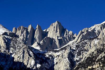 Bob Clark Photograph - Mount Whitney by Bob Clark