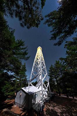 Moonlit Photograph - Mount Wilson Observatory by Babak Tafreshi