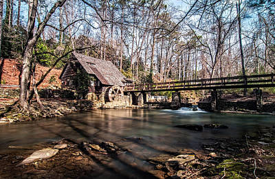 Andy Crawford Photograph - Mountain Brook Mill by Andy Crawford
