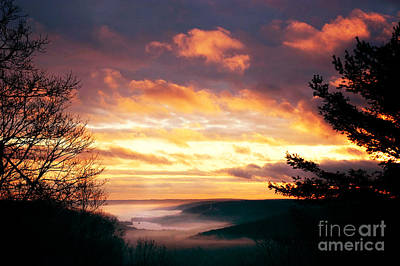 Berkshire Photograph - Mountain Fog by HD Connelly