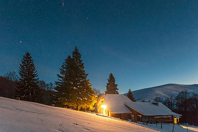 Central Balkan Photograph - Mountain Hut by Evgeni Dinev