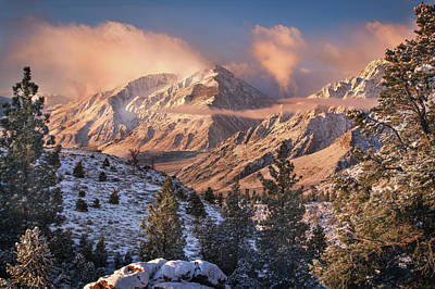 Sierra Photograph - Mountain Light by Chris Moore