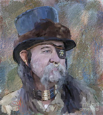Painting - Mountain Man by Jack Milchanowski