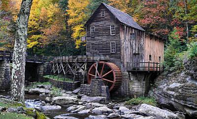 Mountain Mill Art Print