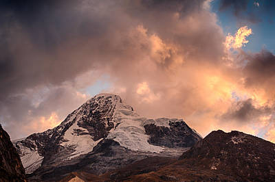 Photograph - Mountain Of The Santa Cruz Trek by Ulrich Schade