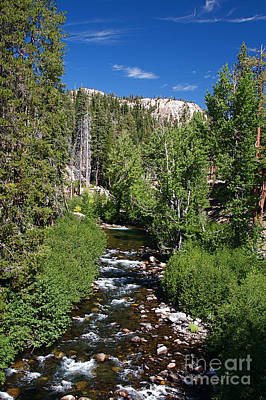 Devils Postpile Photograph - Mountain Stream by ELITE IMAGE photography By Chad McDermott