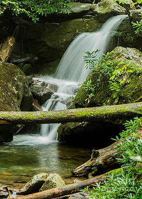 Photograph - Mountain Stream Falls by Brad Marzolf Photography