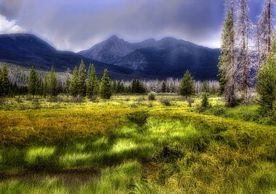 Photograph - Mountain Valley by Ellen Heaverlo
