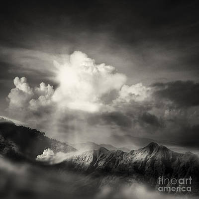 Bank Clouds Hills Photograph - Mountain View by Setsiri Silapasuwanchai