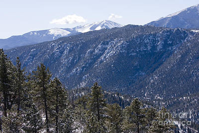 Steven Krull Royalty-Free and Rights-Managed Images - Mountain View by Steven Krull
