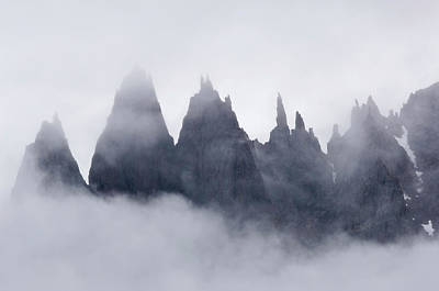Amazement Photograph - Mountains In Fog, Prince Christian by Daisy Gilardini