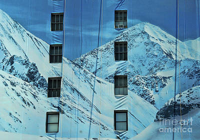 Photograph - Mountains In The City by Allen Beatty