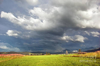 Spring Landscape Photograph - Mountains Storm Landscape by Michal Bednarek