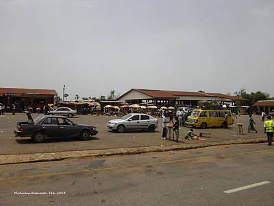 Moyamba Junction-markets Art Print