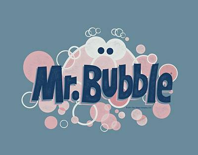Soap Bubbles Digital Art - Mr Bubble - Eye Logo by Brand A