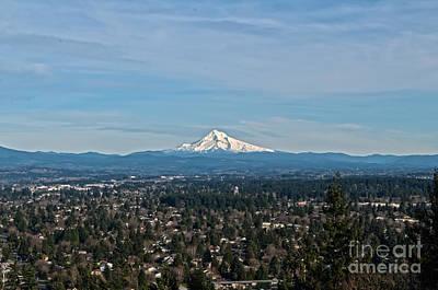 Portland Photograph - Mt. Hood by Mandy Judson