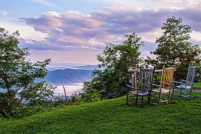 Photograph - Mt Pisgah After The Rain by John Haldane