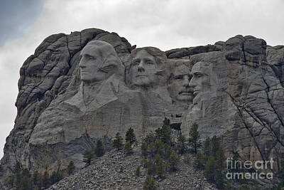 Photograph - Mt Rushmore by David Arment