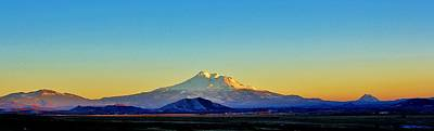 Photograph - Mt. Shasta by Tony Castle
