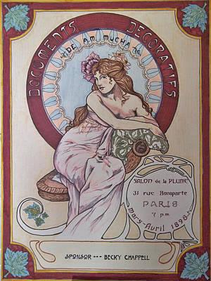Mucha Poster Art Print