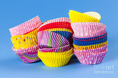 Liner Photograph - Muffin Cups by Elena Elisseeva