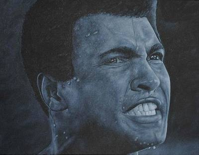 Cassius Clay Painting - Muhammad Ali by David Dunne