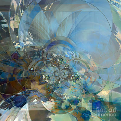 Digital Art - Multiple Dimensions by Ursula Freer