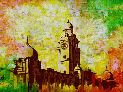 Taxilla Painting - Municipal Corporation Karachi by Catf