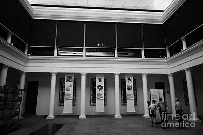 museo chileno de art precolombino pre columbian art museum Santiago Chile Art Print by Joe Fox