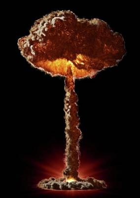 Mushroom Cloud Photograph   Mushroom Cloud By Andrzej Wojcicki