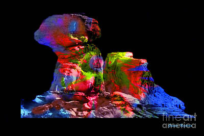 Photograph - Mushroom Rock by Gunter Nezhoda