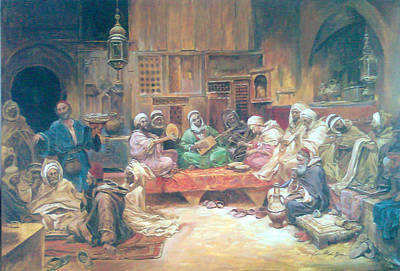 Painting - Musicians by Jaffo Jaffer