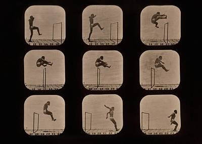 Muybridge Motion Study, 1870s Art Print by Science Photo Library