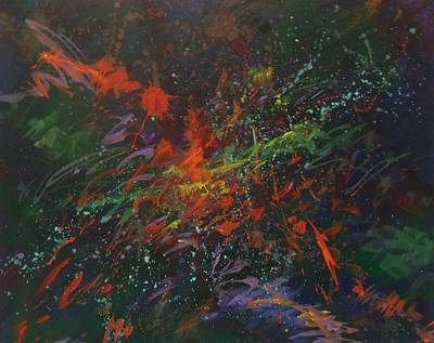 Multi Colored Painting - My Dark by Carol Suzanne Niebuhr