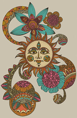My Sunshine Art Print by Valentina